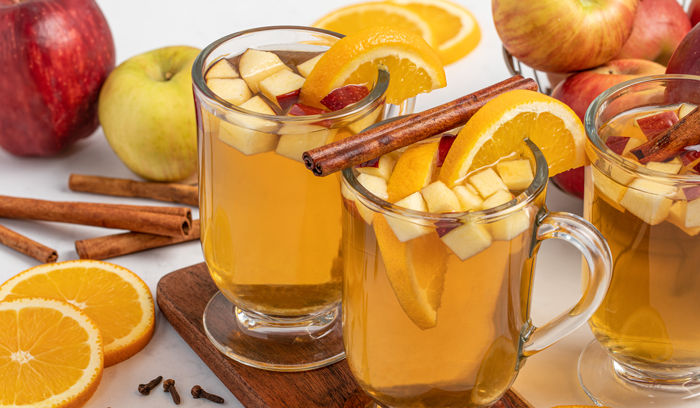 Maple Cinnamon Hot Cider