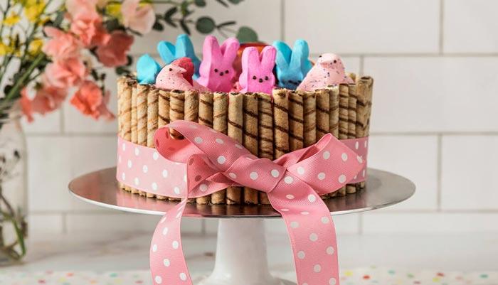 PEEPS Easter Basket Cake