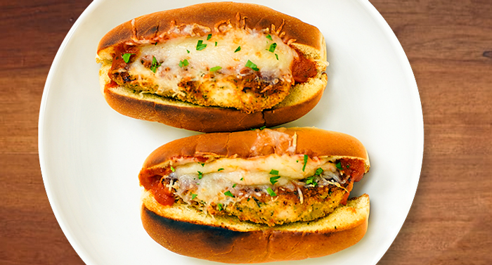 Mini Chicken Parm Sliders