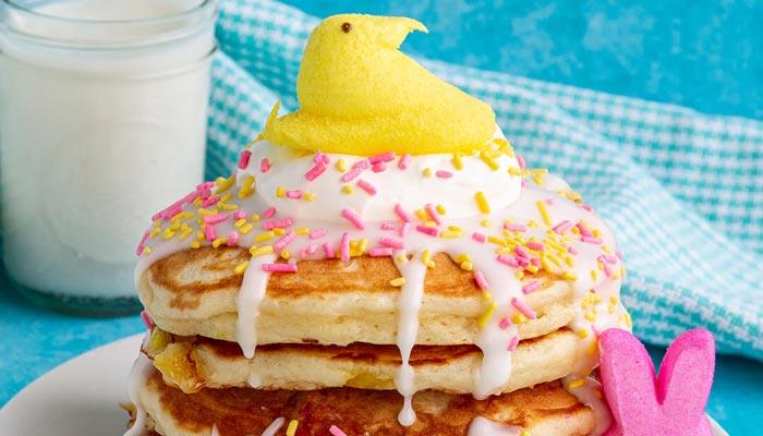 PEEPS Marshmallow Pancakes