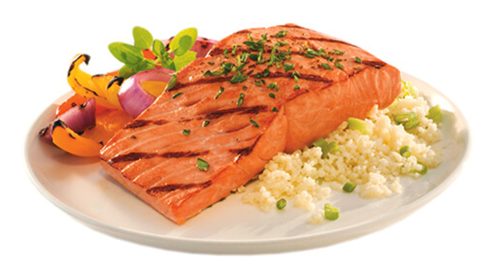 Herb Grilled Sockeye Salmon