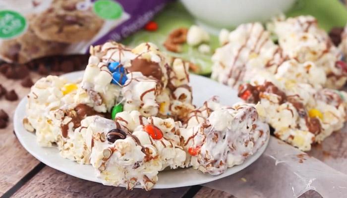 Sweet & Salty Marshmallow Treats