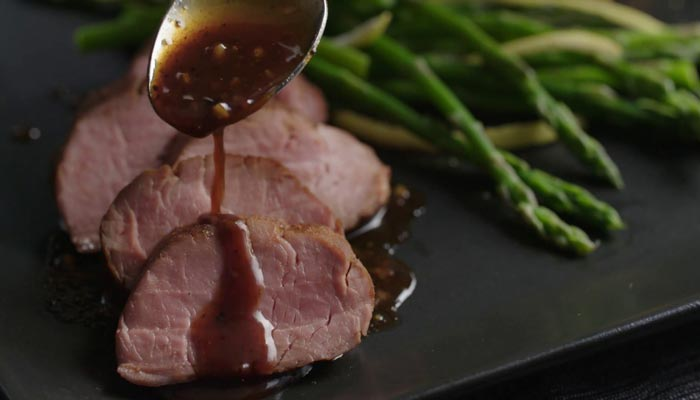 Pork Tenderloin with Tropical Glaze