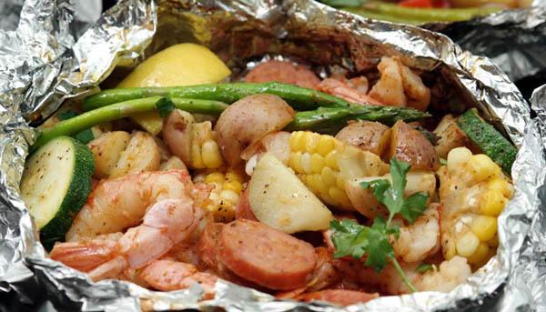Make-Ahead Shrimp Packs