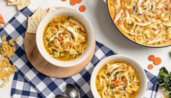 Shortcut Chicken Noodle Soup