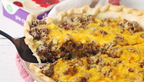 Food Club Cheeseburger Pie Recipe