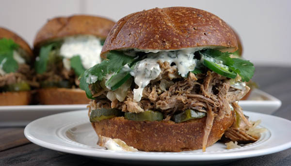 Barbacoa Pork Sandwiches Recipe