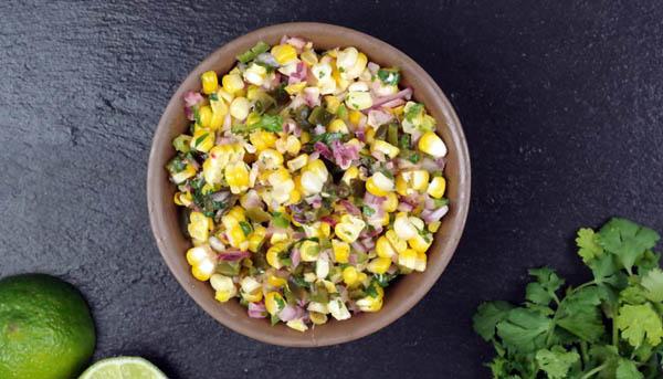 Cilantro Lime Corn Salsa